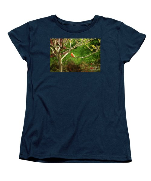 King Parrot Women's T-Shirt (Standard Cut) by Cassandra Buckley