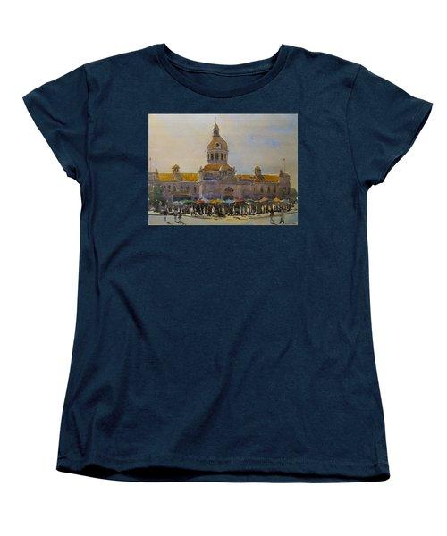 Kingston-city Hall Market Morning Women's T-Shirt (Standard Cut)