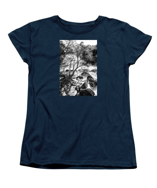 Women's T-Shirt (Standard Cut) featuring the photograph Kirishima by Hayato Matsumoto