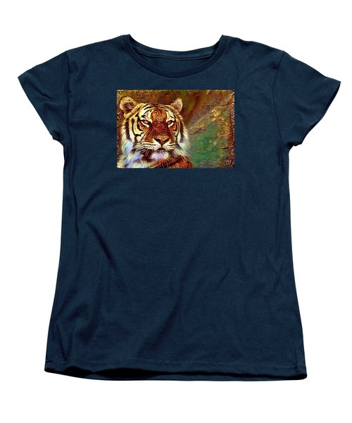 Kisa  Women's T-Shirt (Standard Cut) by Geri Glavis