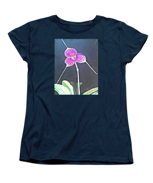 Kite Orchid Women's T-Shirt (Standard Cut)