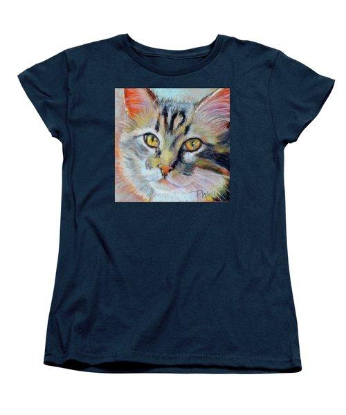 Women's T-Shirt (Standard Cut) featuring the pastel Kitters II by Pattie Wall
