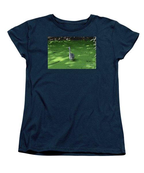 Women's T-Shirt (Standard Cut) featuring the photograph Knee Deep by Carol  Bradley