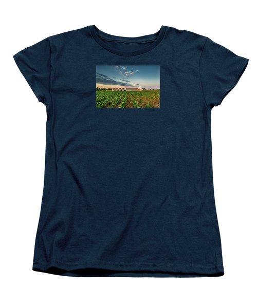 Knee High Sweet Corn Women's T-Shirt (Standard Cut) by Steven Sparks