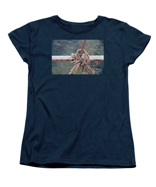 Women's T-Shirt (Standard Cut) featuring the photograph Knot Of My Warf by Stephen Mitchell