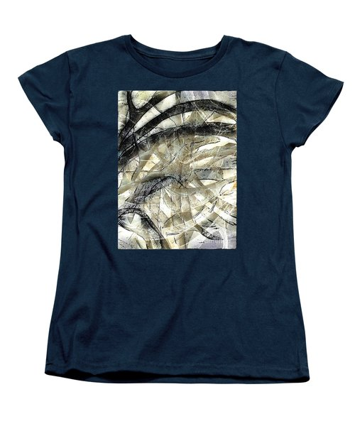 Women's T-Shirt (Standard Cut) featuring the painting Knotty by Vicki Ferrari