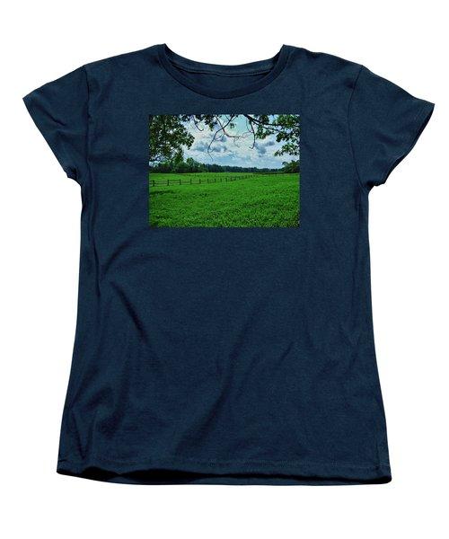 Knox Farm 1786 Women's T-Shirt (Standard Cut) by Guy Whiteley