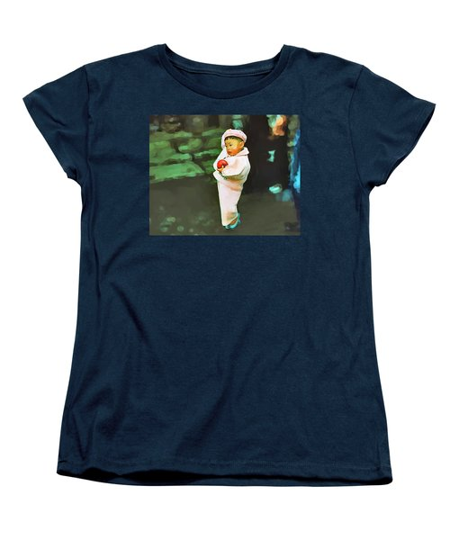 Women's T-Shirt (Standard Cut) featuring the photograph Korean Pink by Dale Stillman