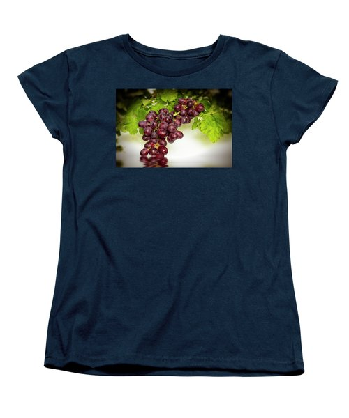 Krissy Gold Grapes Women's T-Shirt (Standard Cut)
