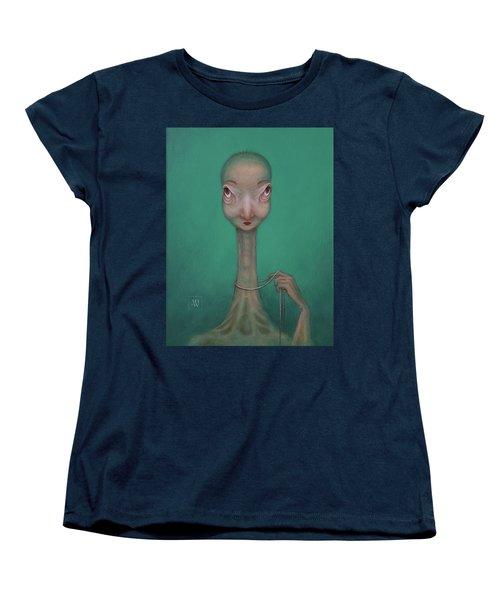 La Coquette  Women's T-Shirt (Standard Cut) by Yvonne Wright