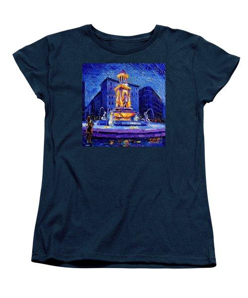 La Fontaine Des Jacobins Women's T-Shirt (Standard Cut)