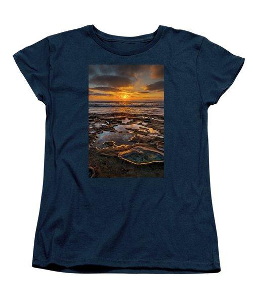La Jolla Tidepools Women's T-Shirt (Standard Cut) by Peter Tellone