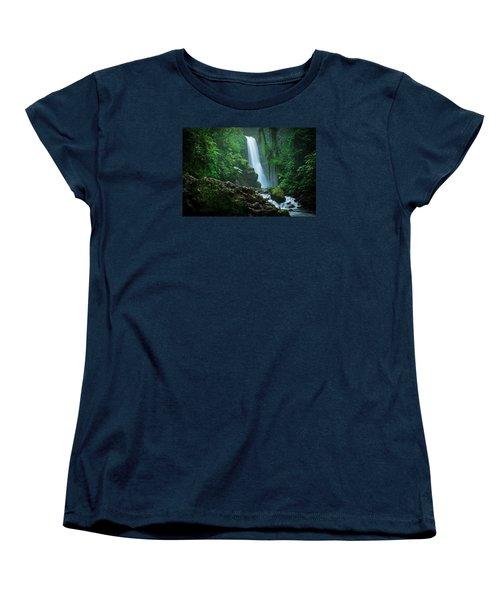 La Paz Waterfall Costa Rica Women's T-Shirt (Standard Cut) by RC Pics