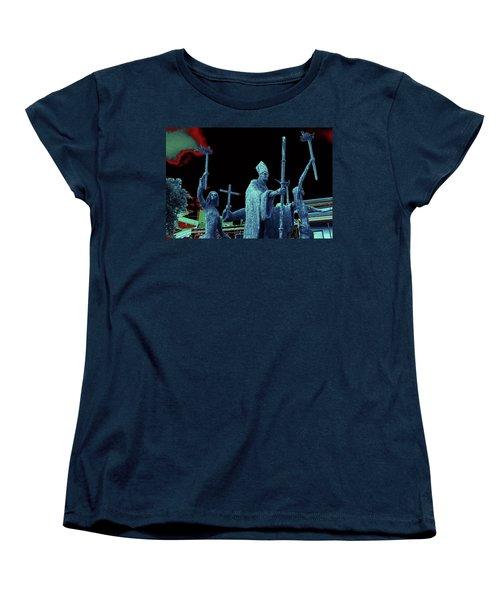 Women's T-Shirt (Standard Cut) featuring the photograph La Rogativa 2106 by Ricardo J Ruiz de Porras