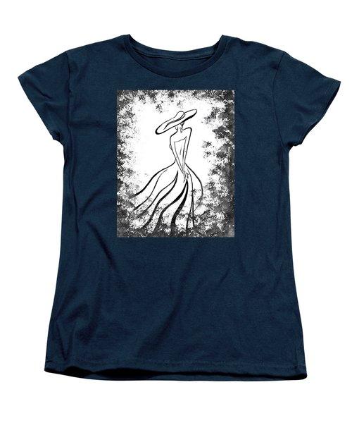 Lady Charm Women's T-Shirt (Standard Cut) by Irina Sztukowski