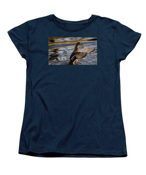 Lady Duck Women's T-Shirt (Standard Cut) by Rainer Kersten