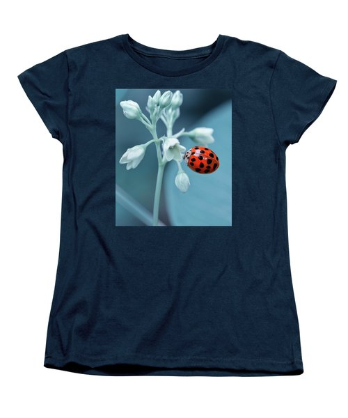 Women's T-Shirt (Standard Cut) featuring the photograph Ladybug by Mark Fuller