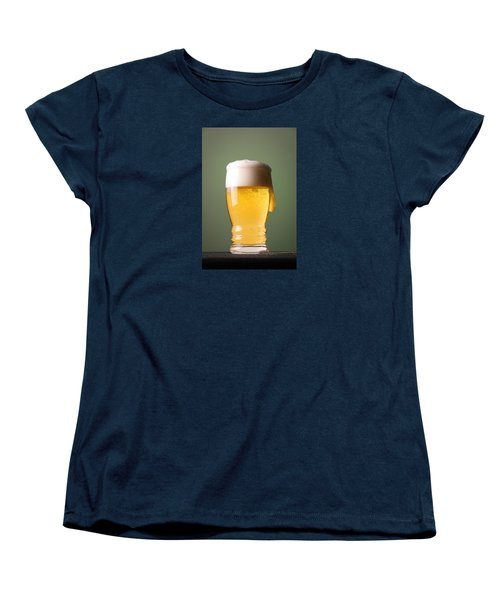 Lager Beer Women's T-Shirt (Standard Cut) by Silvia Bruno