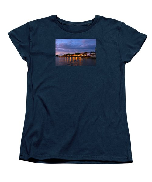 Lahaina Roadstead Women's T-Shirt (Standard Cut) by James Roemmling