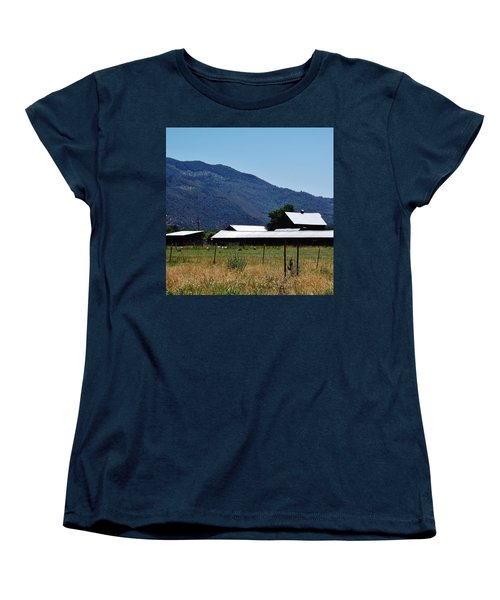 Women's T-Shirt (Standard Cut) featuring the photograph Lake Co 5 by Andrew Drozdowicz