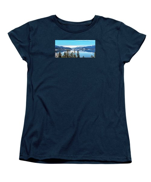 Lake Dillon Colorado Women's T-Shirt (Standard Cut) by Stephen  Johnson