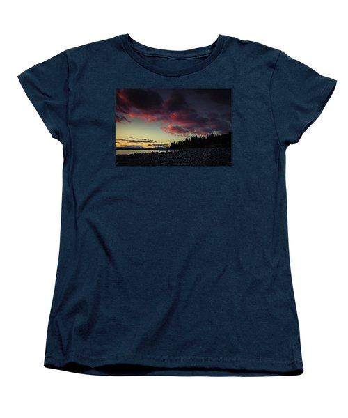 Women's T-Shirt (Standard Cut) featuring the photograph Lake Dreams by Jan Davies