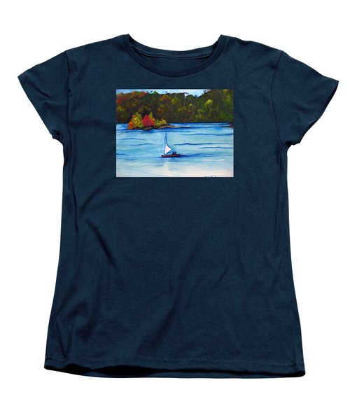 Lake Glenville  Sold Women's T-Shirt (Standard Cut) by Lil Taylor