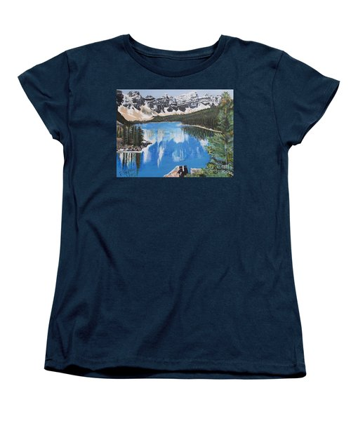 Lake Louise  Women's T-Shirt (Standard Cut)