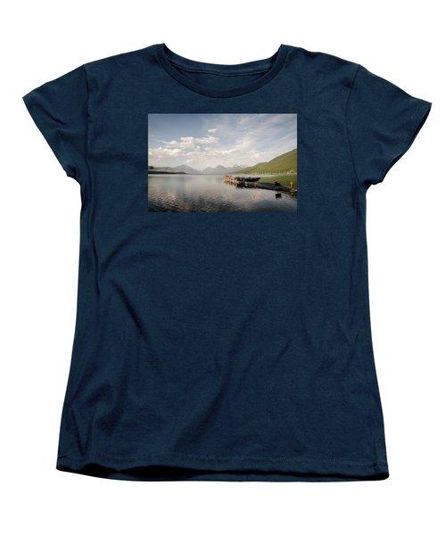 Lake Mcdonald Women's T-Shirt (Standard Cut)