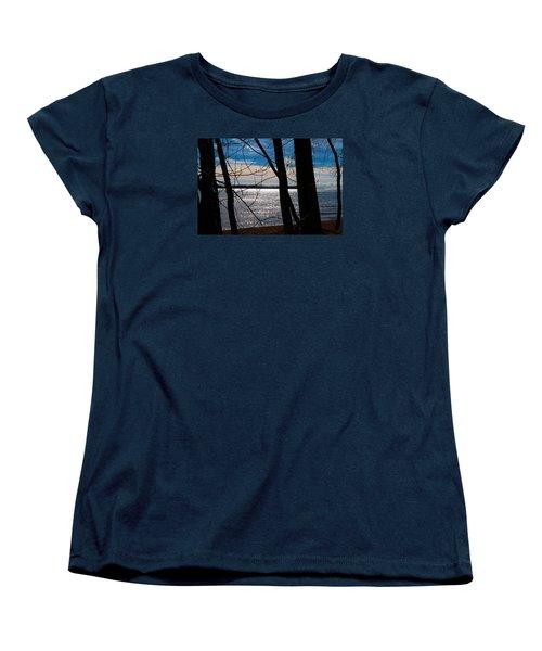 Women's T-Shirt (Standard Cut) featuring the photograph Lake Romance by Valentino Visentini