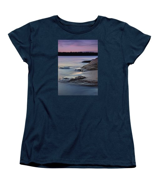 Lake Sunset V Women's T-Shirt (Standard Cut)