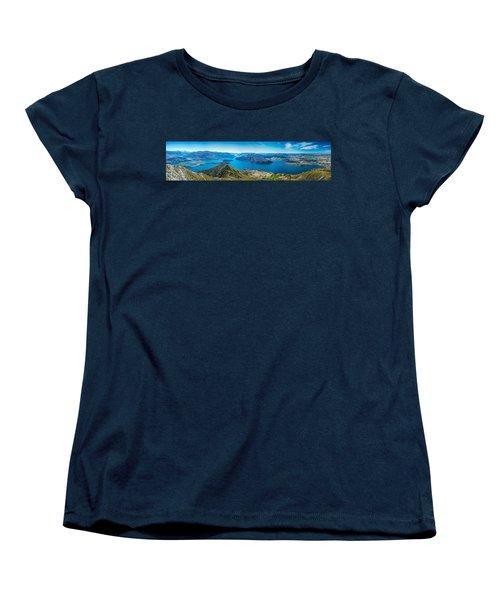 Lake Wanaka Women's T-Shirt (Standard Cut) by Martin Capek