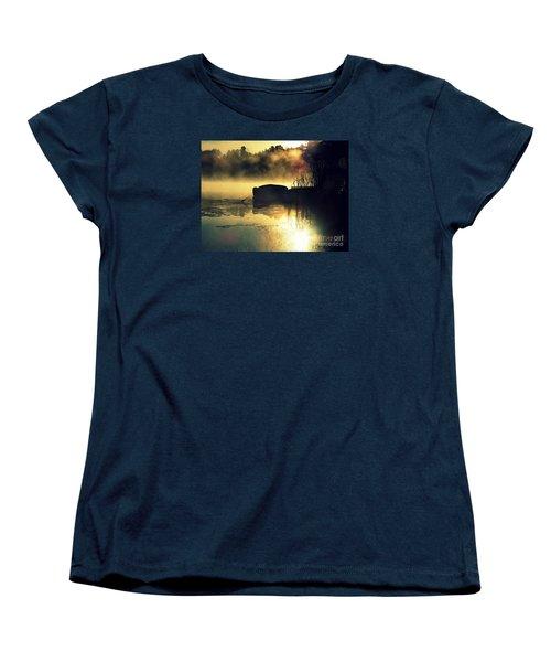 Lakeshore Women's T-Shirt (Standard Cut) by France Laliberte