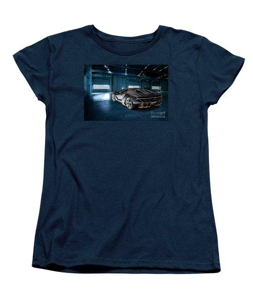 Lamborghini Centenario Lp 770-4 Women's T-Shirt (Standard Cut) by Roger Lighterness