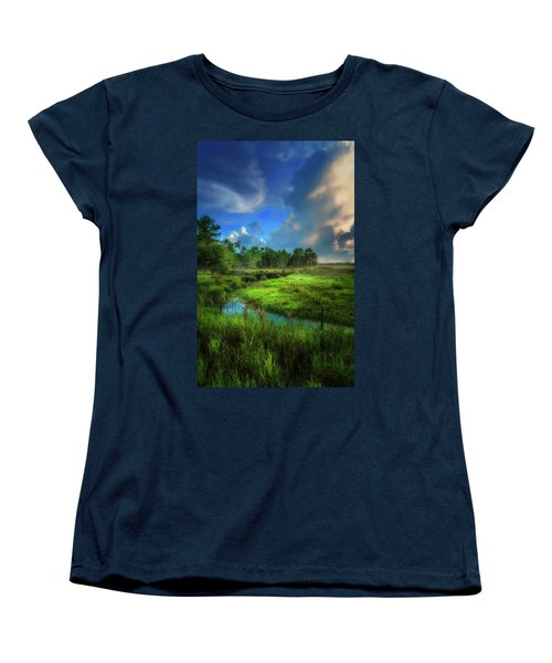 Women's T-Shirt (Standard Cut) featuring the photograph Land Of Milk And Honey by Marvin Spates