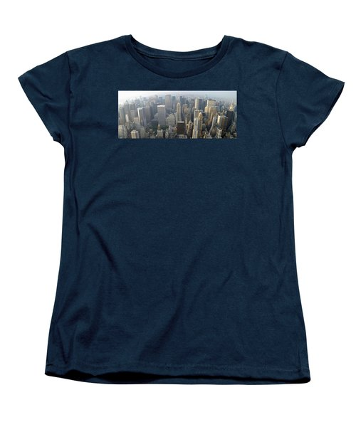 Land Of Skyscapers Women's T-Shirt (Standard Cut) by Aaron Martens