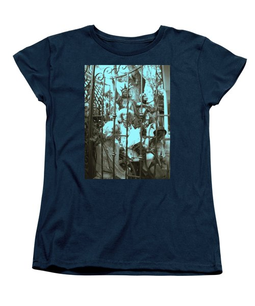 Women's T-Shirt (Standard Cut) featuring the photograph America Land Of The Free by Susan Carella