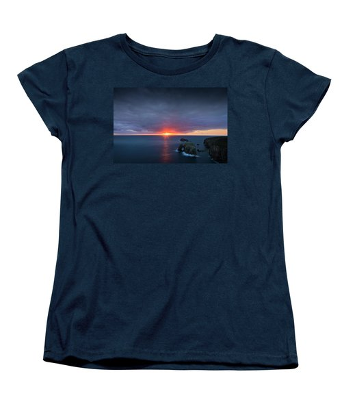 Land's End Women's T-Shirt (Standard Cut) by Dominique Dubied