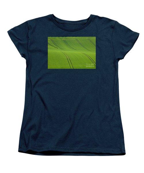 Landscape 5 Women's T-Shirt (Standard Cut) by Jean Bernard Roussilhe