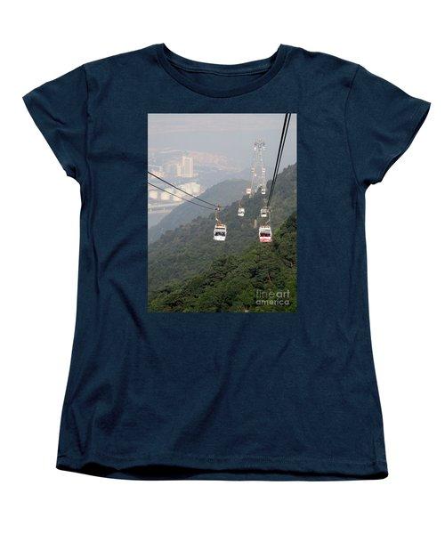 Women's T-Shirt (Standard Cut) featuring the photograph Lantau Island 53 by Randall Weidner