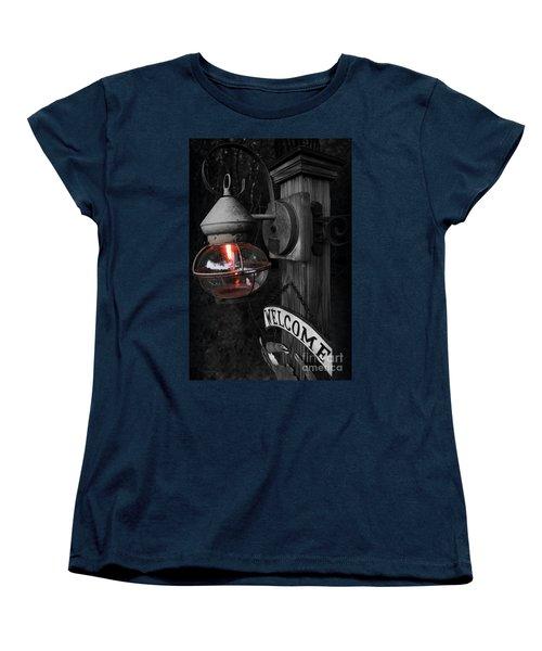 Lantern Women's T-Shirt (Standard Cut) by Brian Jones