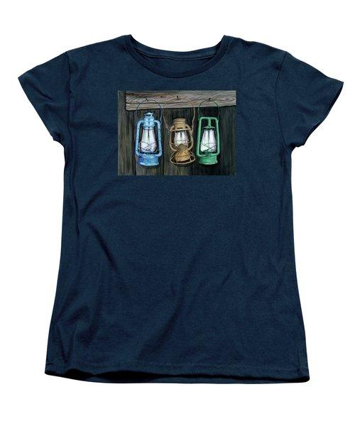 Lanterns Women's T-Shirt (Standard Cut) by Ferrel Cordle