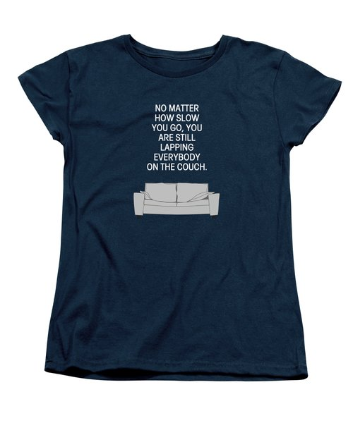 Lap The Couch Women's T-Shirt (Standard Cut) by Nancy Ingersoll