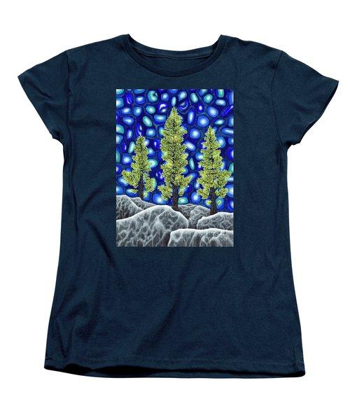 Larch Dreams 2 Women's T-Shirt (Standard Cut) by Rebecca Parker