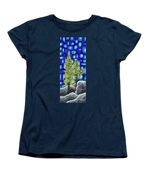 Larch Dreams 3 Women's T-Shirt (Standard Cut) by Rebecca Parker