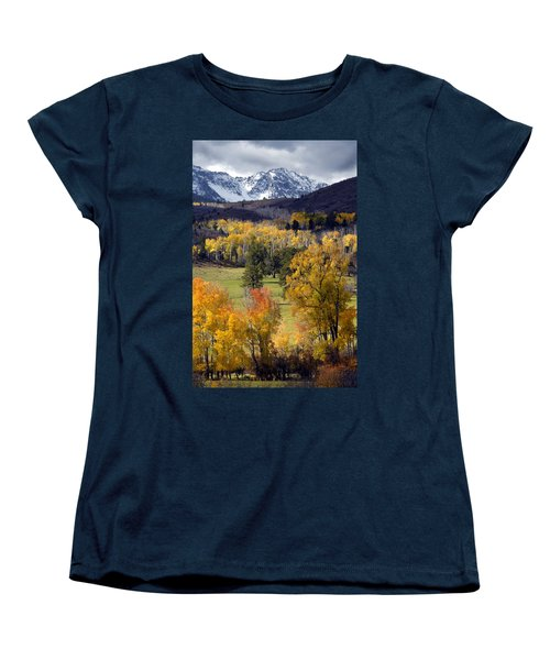Last Light Before The Storm Women's T-Shirt (Standard Cut) by Dave Mills