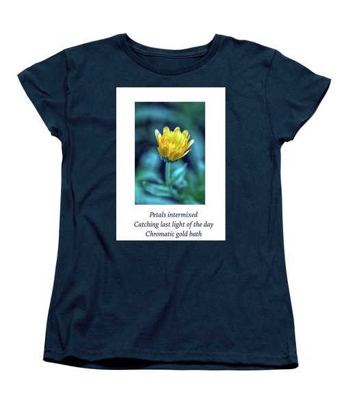 Last Light Haiku Women's T-Shirt (Standard Cut) by Constantine Gregory