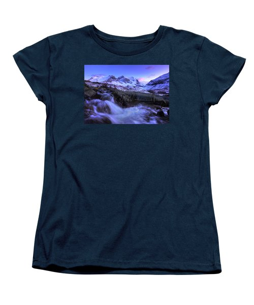 Last Rays On Andromeda Women's T-Shirt (Standard Cut) by Dan Jurak