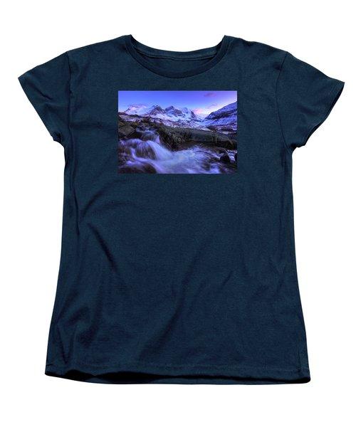 Women's T-Shirt (Standard Cut) featuring the photograph Last Rays On Andromeda by Dan Jurak
