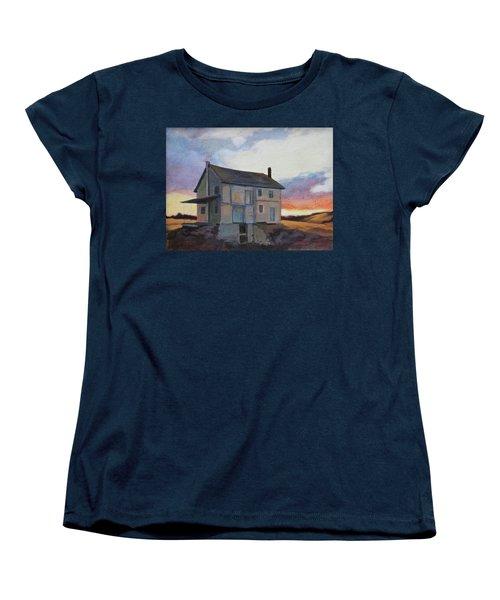 Last Stand Women's T-Shirt (Standard Cut) by Andrew Danielsen